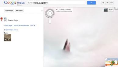 La verdad sobre la aparición divina cazada con Google Maps