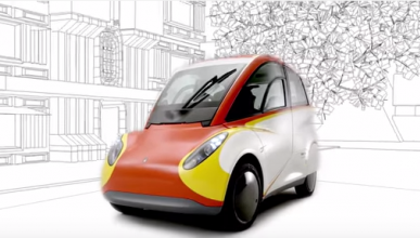 Shell T25: el coche ultraeficiente y reciclable