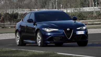 Vídeo: ¡como menea las caderas el Alfa Romeo Giulia QV!