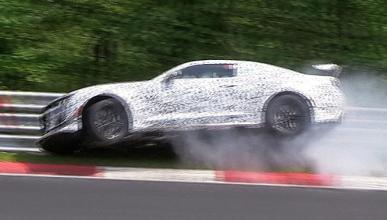 Vídeo: el Camaro Z28 sufre un accidente en Nürburgring