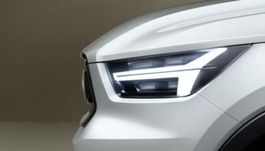 Volvo muestra las primeras imágenes de un misterioso modelo