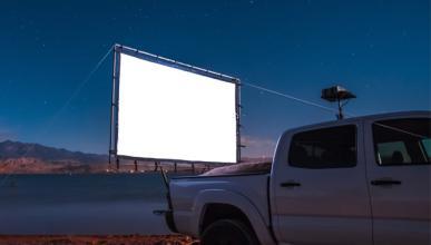 Vídeo: convierte tu coche en un cine al aire libre