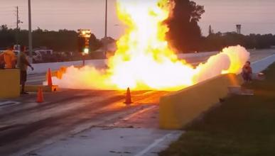 Vídeo: el piloto de este 'Chevy' salva la vida de milagro