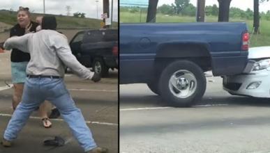 Vídeo: el accidente más loco del día