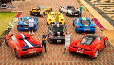 Vídeo: alucina con esta colección de coches de Dubai
