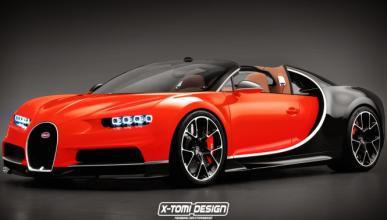 Bugatti Chiron Grand Sport, ¿cuándo lo veremos?