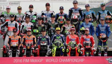 MotoGP 2016: Así está la parrilla de MotoGP