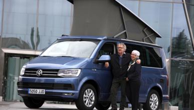 Ian Gibson recorrerá la península en la VW California T6