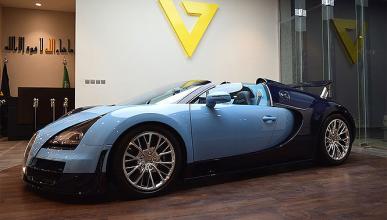 Arabia Saudí, único destino para este Bugatti Veyron