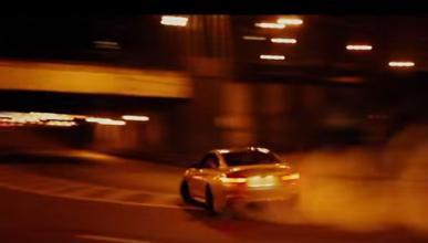 Vídeo: un BMW M4 lo da todo por las calles de Rusia