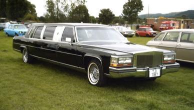 La ostentosa limusina Cadillac fabricada para Donald Trump