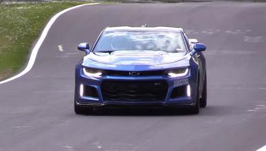 Así suena el Camaro ZL1 en plena acción en Nürburgring