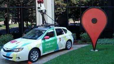 Un coche de Policía que se hace pasar por uno de Google