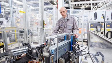 VW Navarra premia la innovación de varios trabajadores