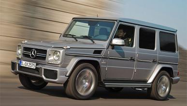 Ricachón en problemas con su Mercedes Clase G