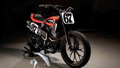 Harley-Davidson XG750R: el encanto del flat-track