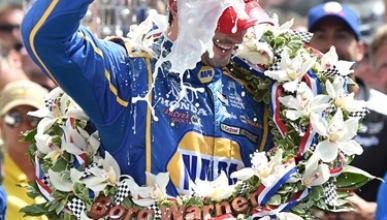 Rossi gana las 500 Millas de Indianápolis 2016 en su debut