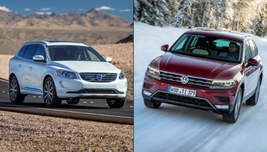 ¿Cuál es mejor, el VW Tiguan 2016 o el Volvo XC60?