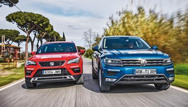Compa: Seat Ateca o VW Tiguan, ¿cuál es mejor?