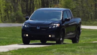 Vídeo: así es el genial pick-up de Honda, el Ridgeline