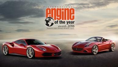 El motor V8 de Ferrari, elegido 'Motor del año 2016'