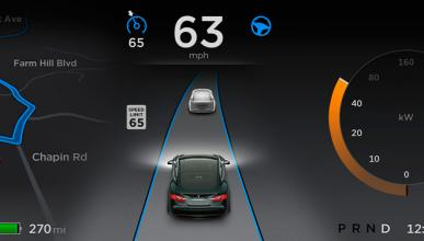 Google dice que el piloto automático de Tesla es irresponsa
