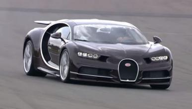 Vídeo: el jefe de Bugatti, en Nürburgring con un Chiron