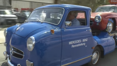 Vídeo: Jay Leno conduce el Mercedes-Benz 'Blue Wonder'