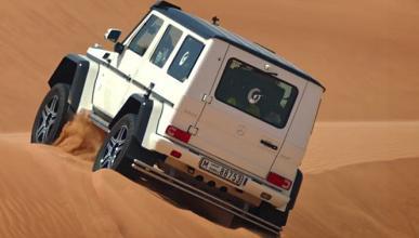 Mercedes G500 4x4² puesto a prueba en el desierto de Dubái