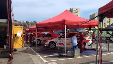 17 heridos al salirse un coche en el Rally Santander 2016