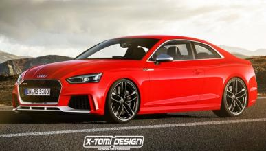 Audi A5 Coupé RS 2017: así podría ser