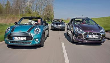 Comparativa cabrios: Citroën DS3/Mini Cooper/VW Beetle