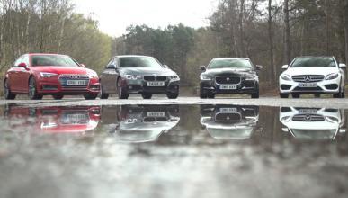 Vídeo: el Jaguar XE contra sus rivales alemanes