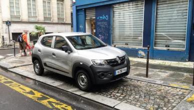 El Renault Kwid se deja ver en París