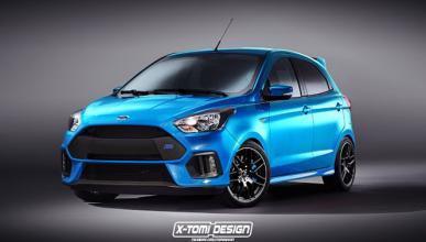 ¿Un Ford Ka Plus RS? Sí, lo queremos¡¡¡