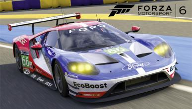 Ford GT de LeMans, disponible en el Forza Motorsport 6