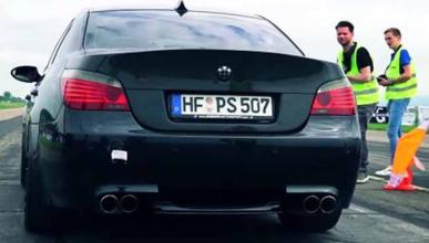 Este BMW M5 suena como si estuviera poseído por el diablo