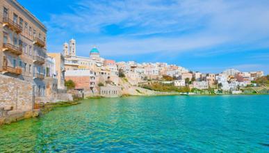 islas griegas mas economicas siros