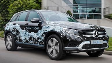 Mercedes GLC F-CELL Plug-in: hidrógeno y enchufable en 2018