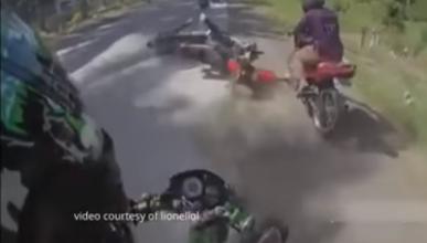 Vídeo: Una carrera callejera cutre termina de forma fatal