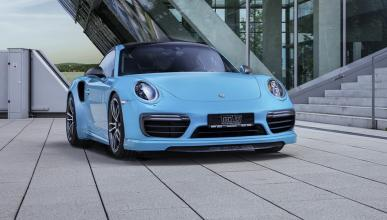 Porsche 911 Turbo S y Carrera S preparados por TechArt