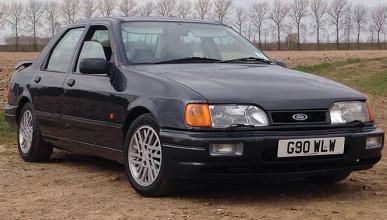 A subasta un Ford Sierra RS Cosworth denominación Top Gear
