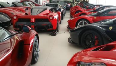 Vídeo: nunca verás tantos Ferrari LaFerrari juntos