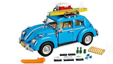 volkswagen new beetle lego impresionante