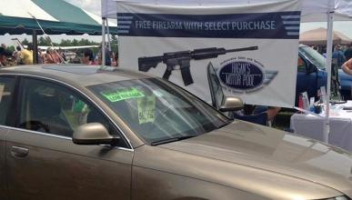 Regala un rifle por comprar un coche