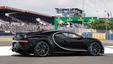 Bugatti Chiron, el rey de la velocidad en Le Mans