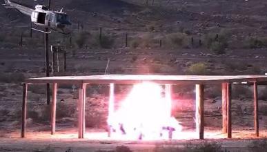 Las explosivas pruebas de armamento del ejército de EE.UU