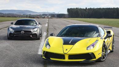 Duelo tuning radical: Mansory 4XX Siracusa und AMG GT S