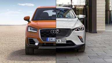 ¿Cuál es mejor, Audi Q2 o Mazda CX-3?