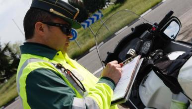 guardia civil multa